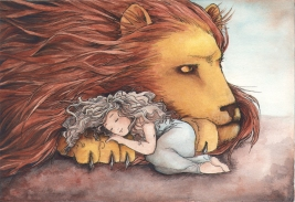 daughter of a lion