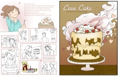 love cake cover