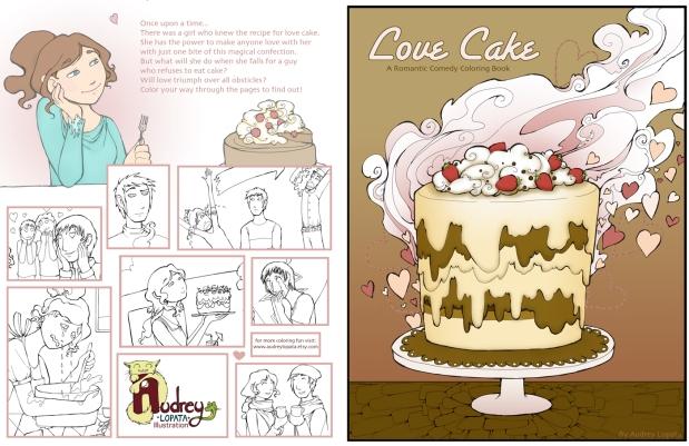 love cake cover