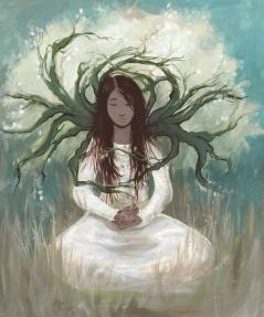 tree girl small